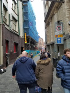 リバプール街並み