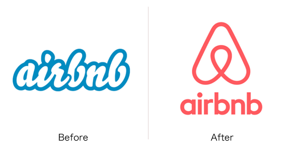 airbnbのロゴ変更