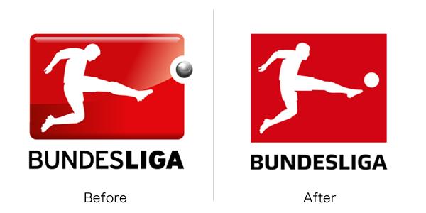 ブンデスリーガのロゴ変更