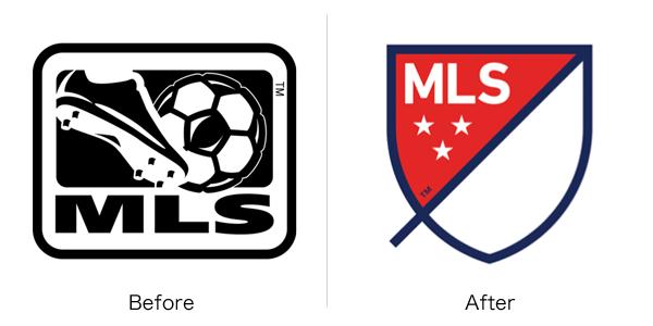 メジャーリーグサッカーのロゴ変更