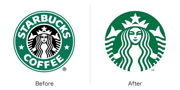 スターバックスのロゴ変更