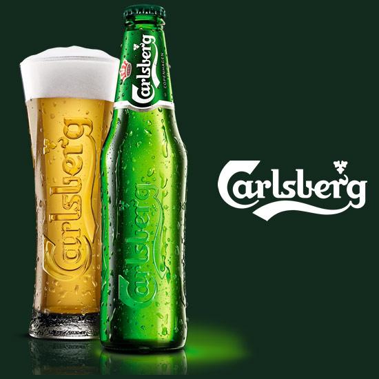 カールスバーグのグラス