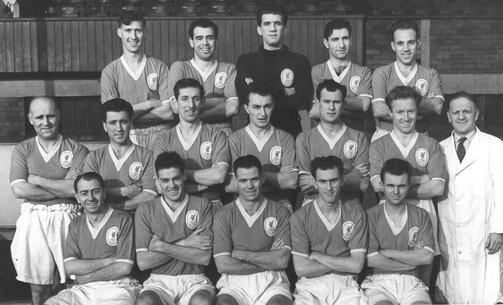 リバプールFCの1955年のユニフォーム