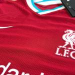 【実物レポート】リバプールのNIKEユニフォーム(2020-21シーズン)